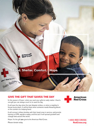 Martha Teater Red Cross Photo